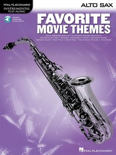 Favorite Movie Themes - Altsaxofon