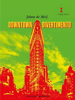 Downtown Divertimento - Partitur
