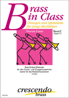 Brass in Class (Band 2) - Ausgabe in C (Trompete)