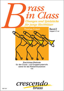Brass in Class (Band 2) - Ausgabe in C tief (Tuba)