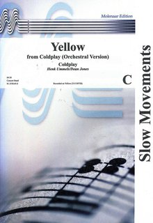 Yellow (from Coldplay) - Set (Partitur + Stimmen)