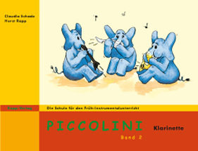 Piccolini f�r Klarinette (Band 2)