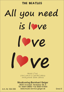 All you need is love - The Beatles (Bigband)