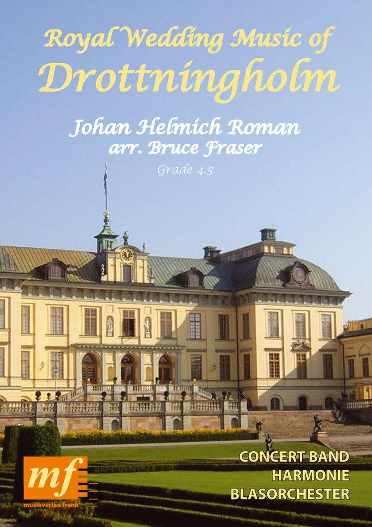royal wedding music of drottningholm  noten