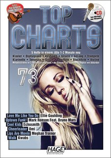 Top Charts 73 - mit CD + Midifiles, USB-Stick
