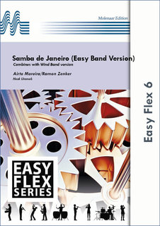 Samba de Janeiro (Easy Band Version) - Set (Partitur + Stimmen)