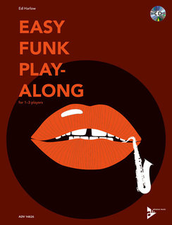 Easy Funk Play-Along (1-3 Tenorsaxofone)
