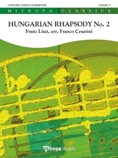 Hungarian Rhapsody No. 2 - Set (Partitur + Stimmen)