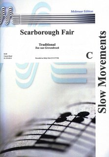 Scarborough Fair - Partitur