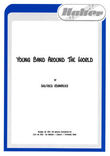 Young Band around the World - 4. Stimme in B (hoch): 1. Tenorhorn/Bariton/Posaune/Baßklarinette