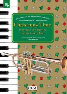 Noten Keyboard Weihnachtslieder Kostenlos.Christmas Time Trompete Und Klavier Noten Trompete Flügelhorn