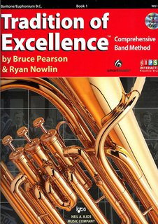 Tradition of Excellence 1 - Bariton in C (Bassschlüssel)