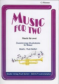 Music for Two - 2. Stimme B hoch(Tenor Sax./Tenorhorn)