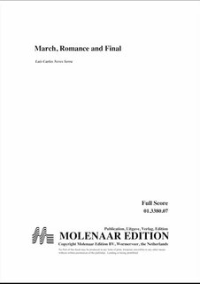 March, Romance and Final - Set (Partitur + Stimmen)