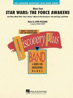 Music From Star Wars: The Force Awakens - Partitur