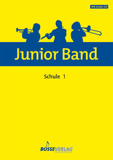 Junior Band Schule 1 - Klarinette in Bb
