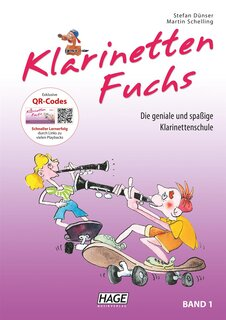 Klarinetten-Fuchs Band 1 (mit CD)