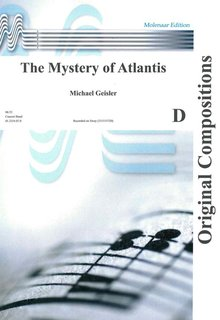 The Mystery of Atlantis - Partitur