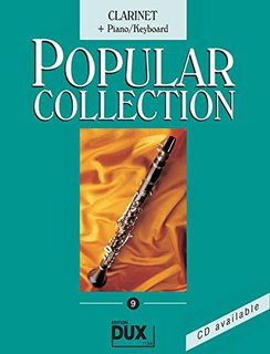 Popular Collection 9 - Klarinette und Klavier (Keyboard)