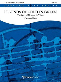 Legends of Gold in Green - Partitur