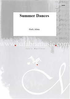 Summer dances - Partitur