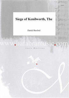 The siege of Kenilworth - Partitur