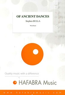 Of ancient dances - Set (Partitur + Stimmen)