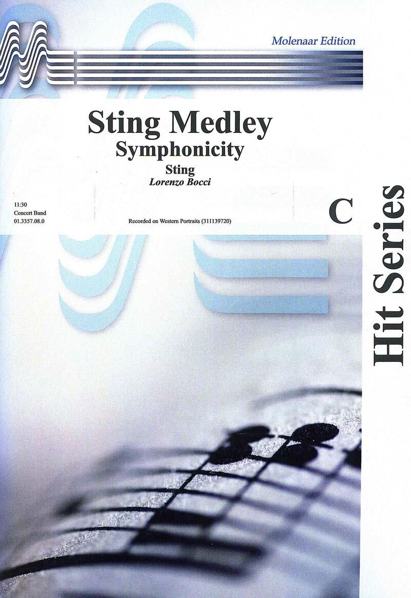 Sting Medley   Noten - Rock & Pop   Sting   Arr. Lorenzo Bocci