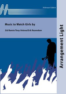 Music to Watch Girls by - Partitur