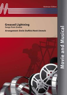 Greased Lightning - Partitur