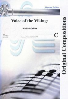 Voice of the Vikings - Partitur