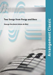 Two Songs from Porgy and Bess - Partitur