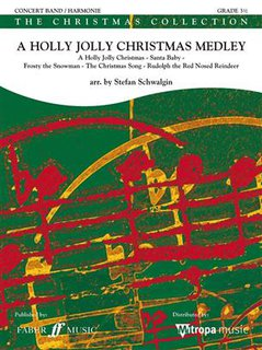 A Holly Jolly Christmas Medley - Set (Partitur + Stimmen)
