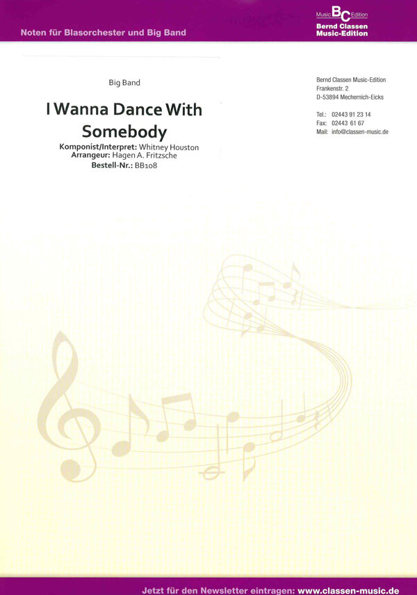 wanna dance with somebody pdf