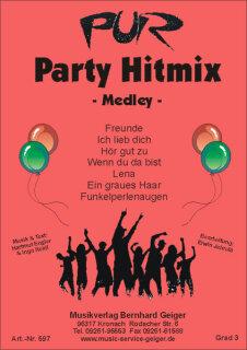 pur party hitmix medley noten rock pop