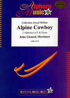 Alpine Cowboy (2 Alphorns in F)