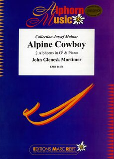 Alpine Cowboy (2 Alphorns in Gb)