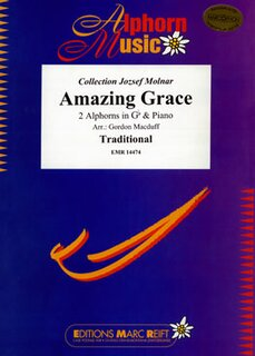 Amazing Grace (2 Alphorns in Gb)