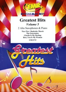 Greatest Hits Volume 5  (2 Alto Saxophones)