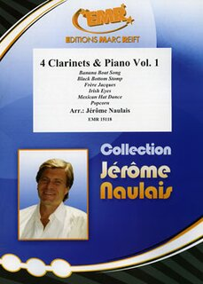 4 Clarinets & Piano Volume 1