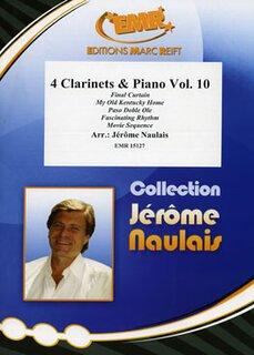 4 Clarinets & Piano Volume 10