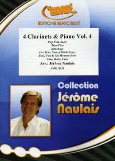 4 Clarinets & Piano Volume 4