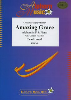 Amazing Grace (Alphorn in F)