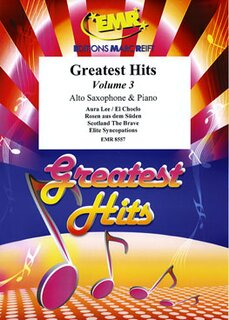 Greatest Hits Volume 3  (Alto Saxophone)