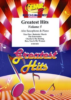 Greatest Hits Volume 5  (Alto Saxophone)