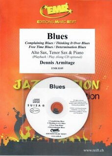 Blues + CD (Alto Saxophone, Tenor Saxophone)
