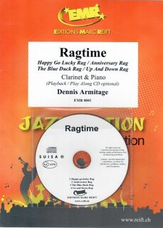 Ragtime + CD (Klarinette)