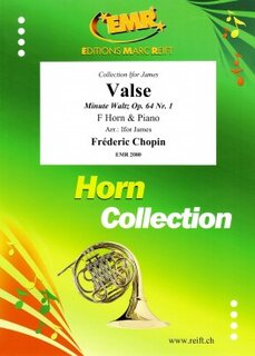 Valse Op. 64 N° 1 (Ifor James) (Horn in F)