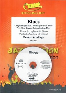 Blues + CD (Tenor Saxophone)