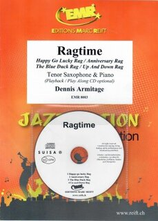 Ragtime + CD (Tenor Saxophone)